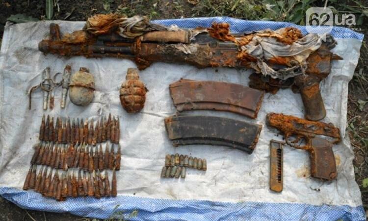 Найденные боеприпасы, село Удачное