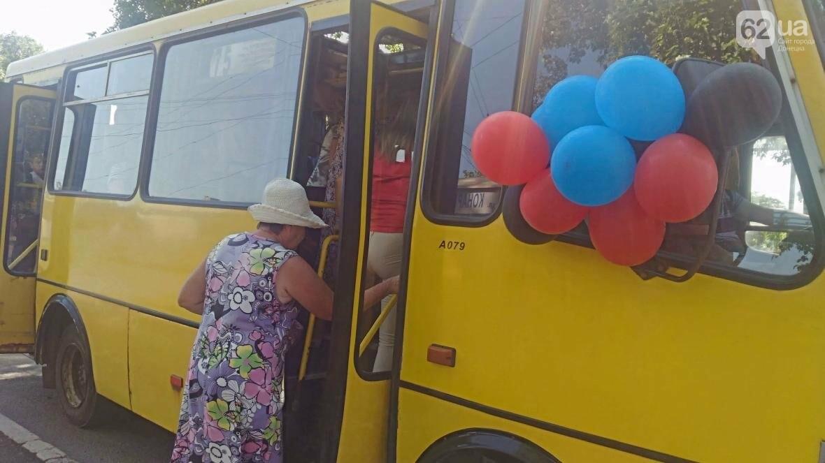 В Донецке открыли «изменение автобусного маршрута» (ФОТО), фото-2