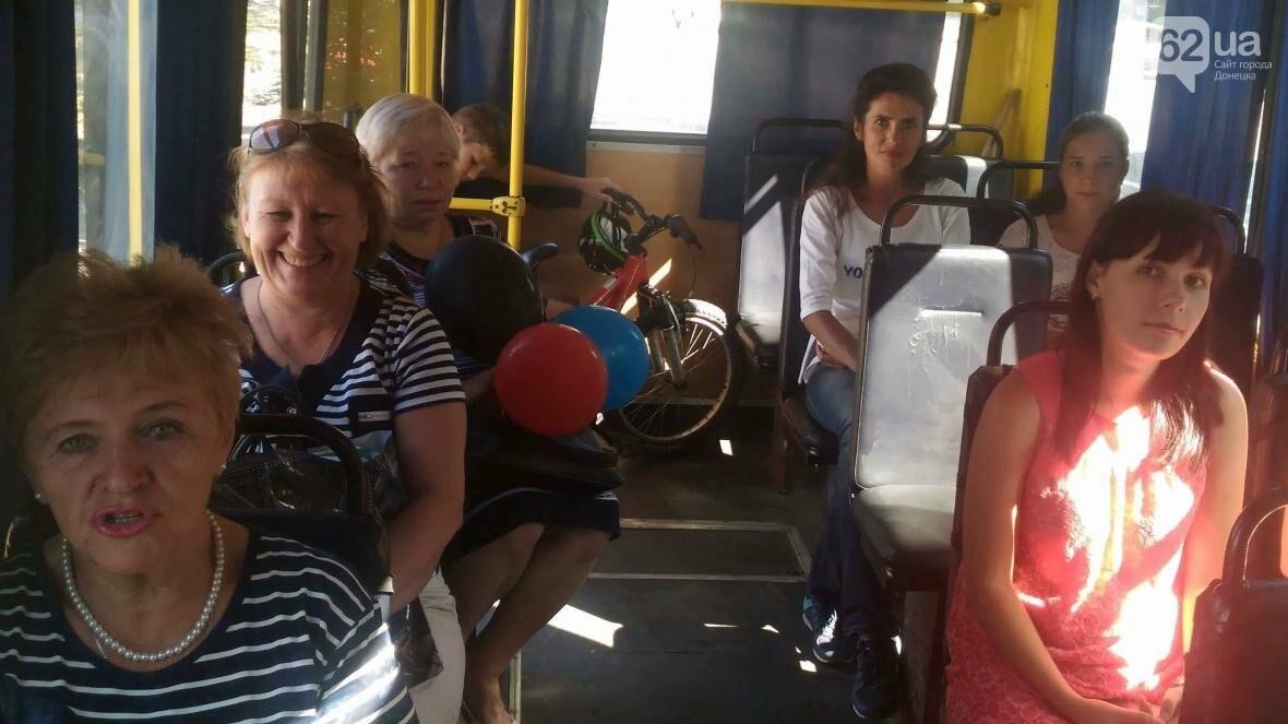 В Донецке открыли «изменение автобусного маршрута» (ФОТО), фото-3