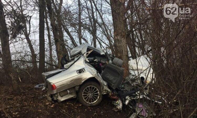В жутком ДТП на трассе Донецк-Мариуполь погибли 2 человека (ФОТО), фото-1
