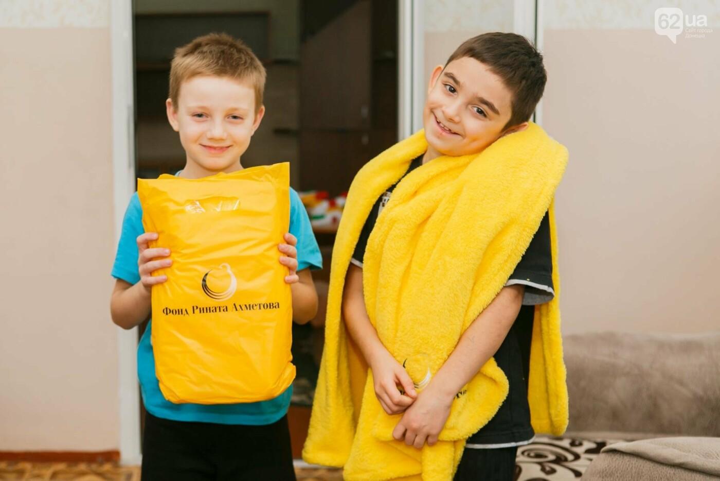 «Ринат Ахметов – детям!»: полмиллиона подарков, фото-1