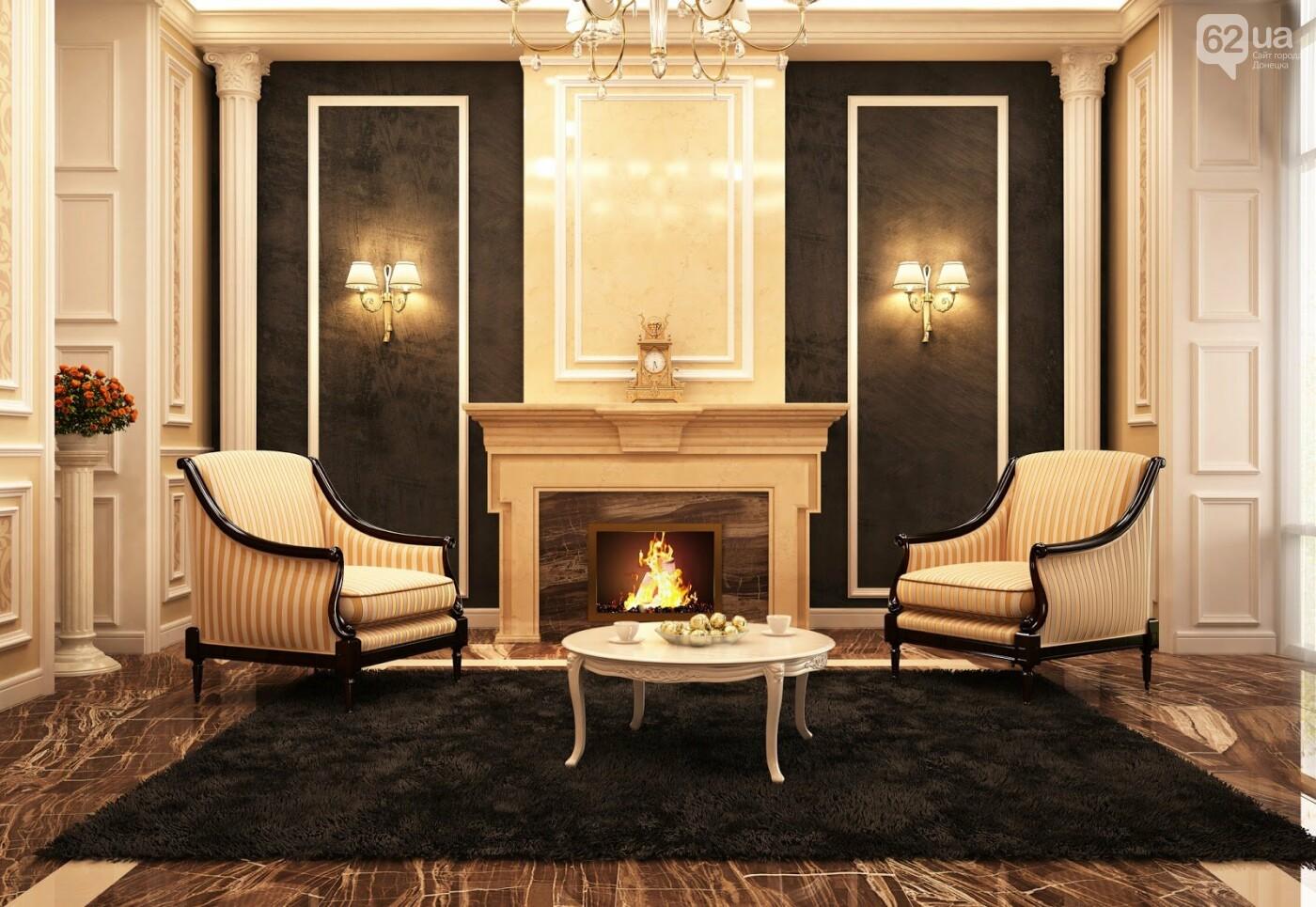 3 стиля интерьера, в которых используется мрамор, фото-2