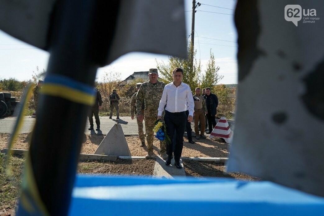 Зеленский посетил зону ООС на Донбассе, - ФОТО, фото-2