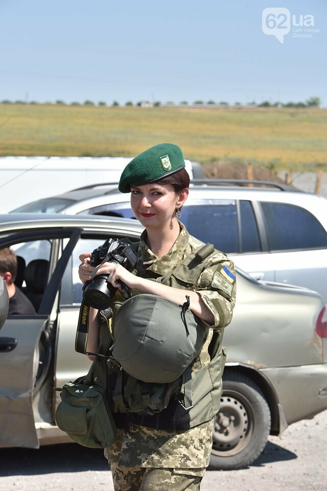 «Братик» - старлей: Как преподавательница вуза ушла в АТО и стала офицером Пограничной службы, фото-3