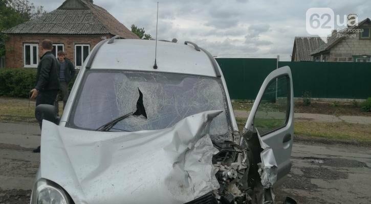 В «ДНР» водитель «Renault Kangoo» без прав устроил ДТП, - ФОТО, фото-2