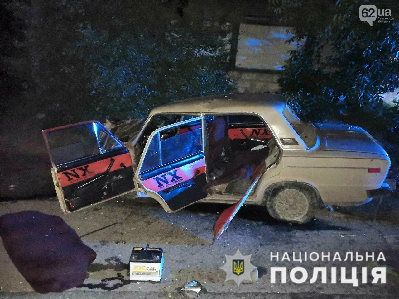 В Краматорске пьяный водитель врезался в бетонное ограждение, - ФОТО, фото-1