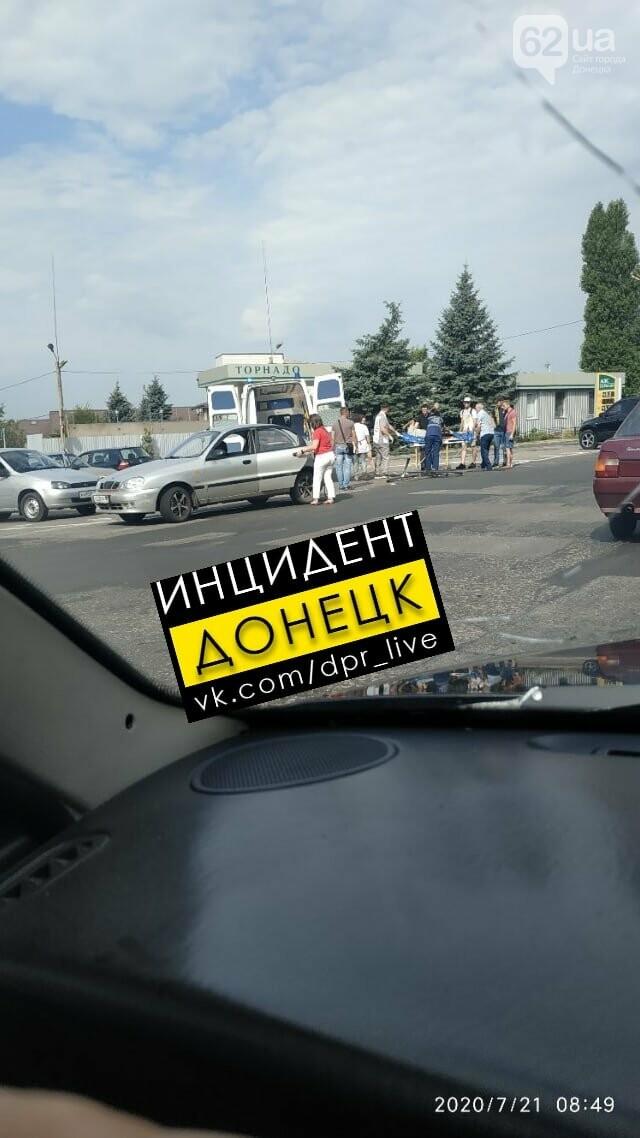 В Донецке сбили велосипедиста, - ФОТО, фото-1