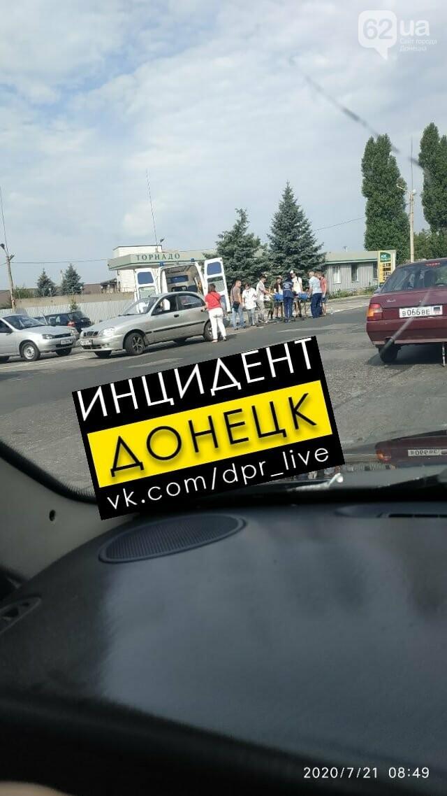 В Донецке сбили велосипедиста, - ФОТО, фото-2
