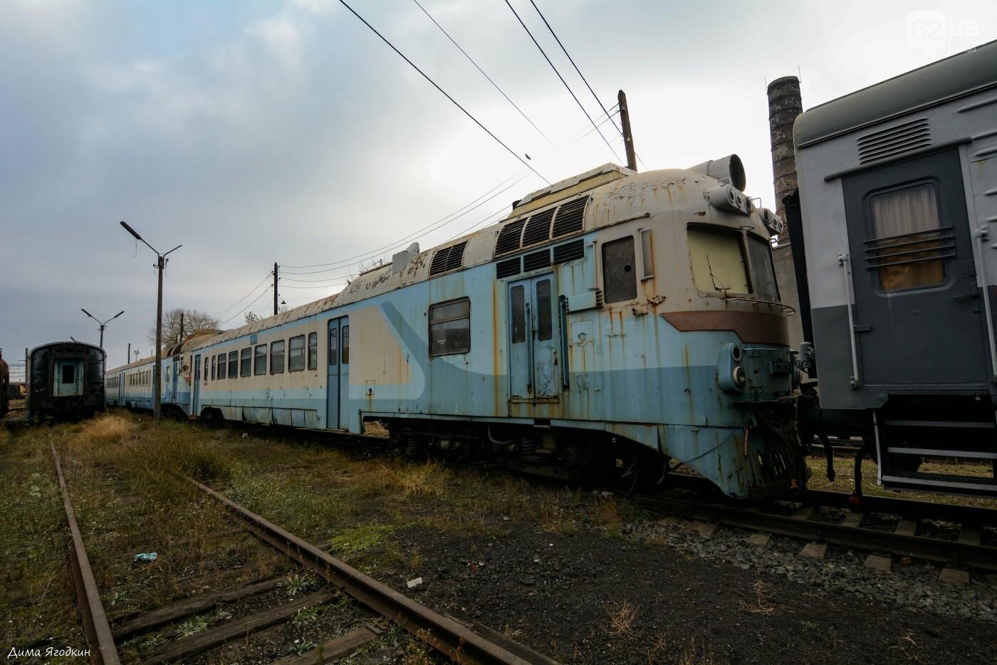 Кладбище поездов в «ДНР», - ФОТО, фото-6