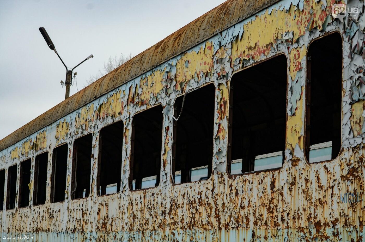 Кладбище поездов в «ДНР», - ФОТО, фото-2