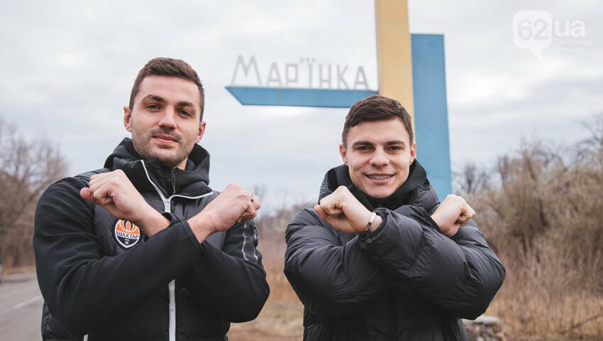 Футболисты «Шахтера» побывали в городах на линии разграничения в Донецкой области, - ФОТО, фото-2