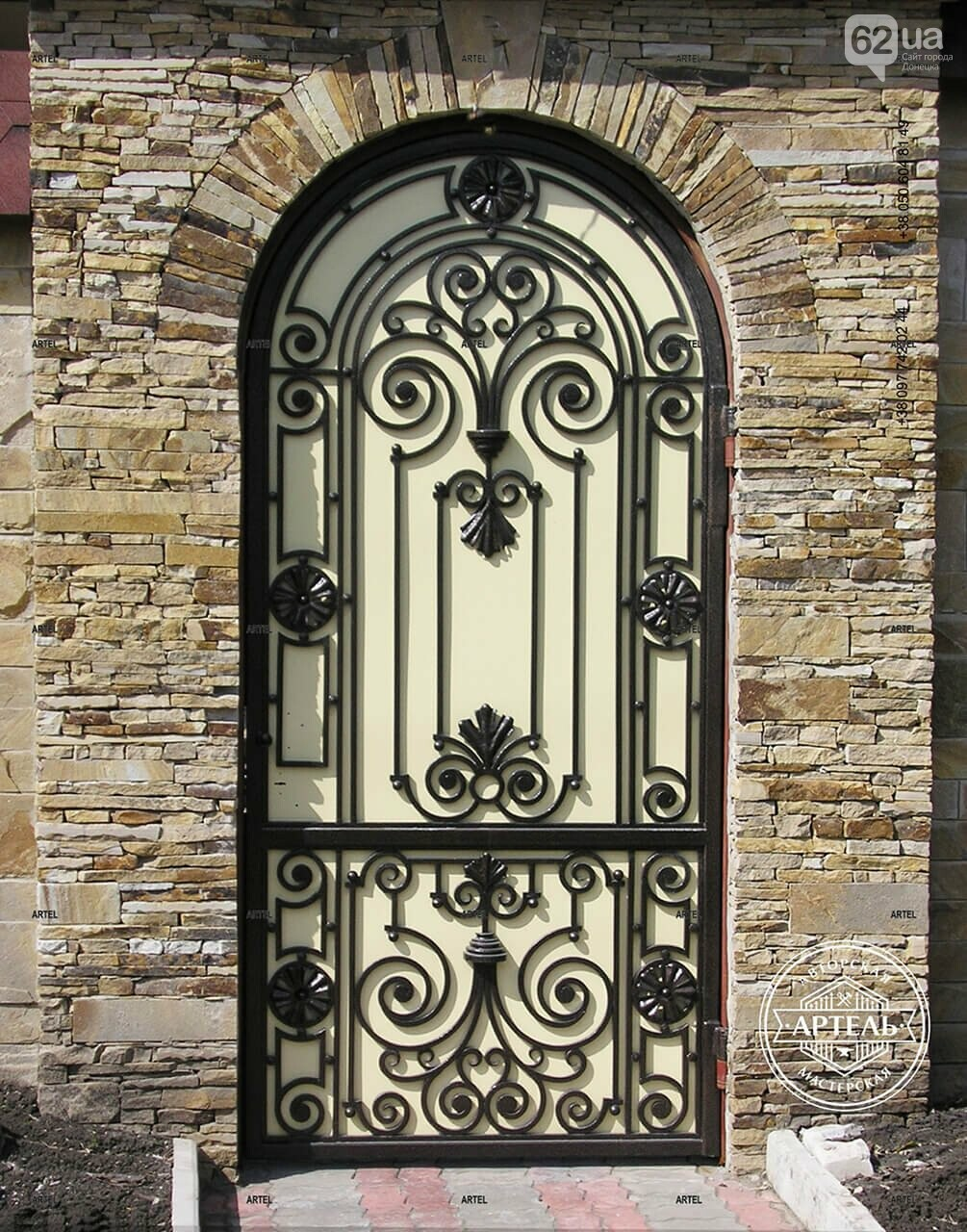 Кованые ворота в Киеве: как выбрать производителя?, фото-4