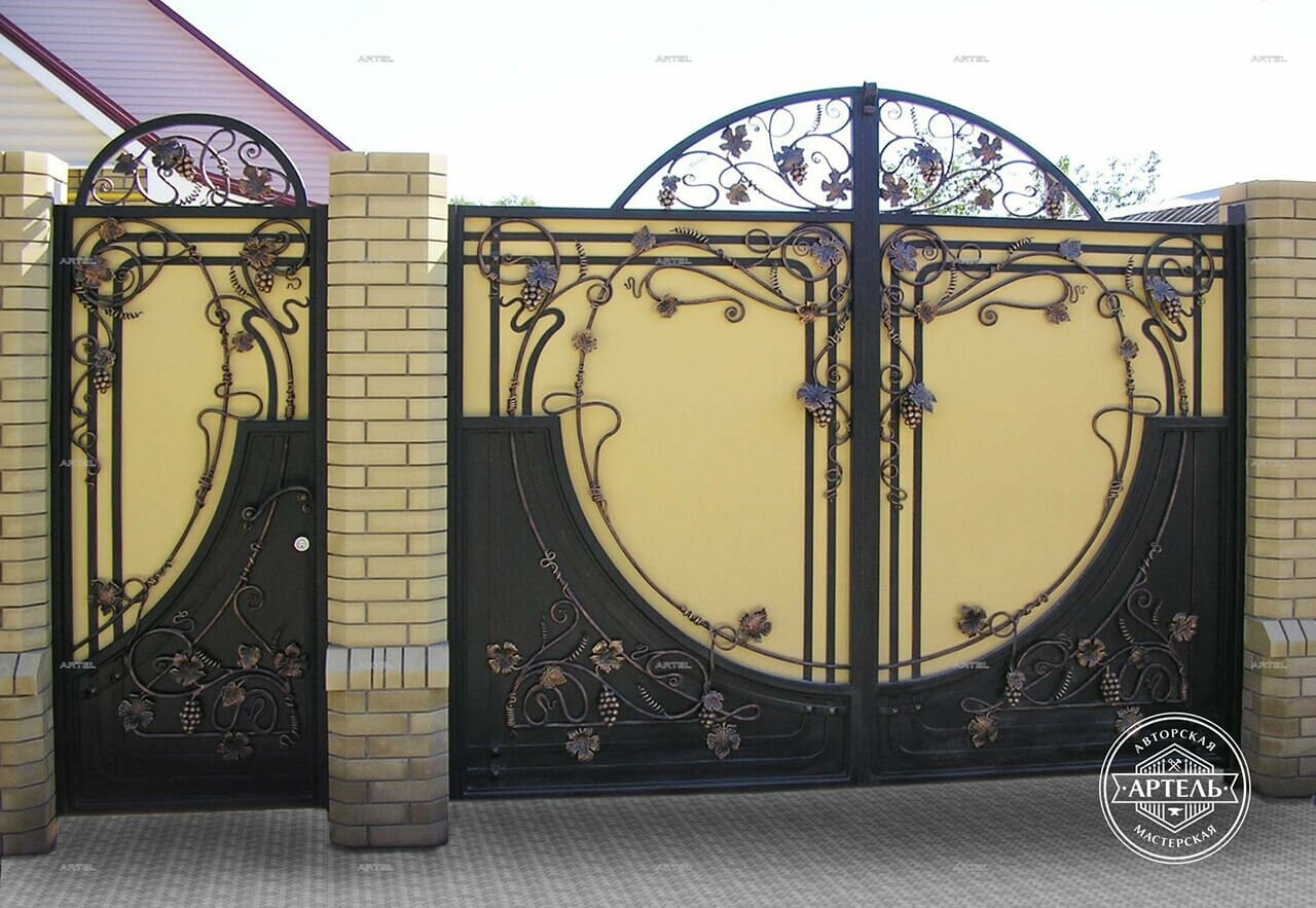 Кованые ворота в Киеве: как выбрать производителя?, фото-1