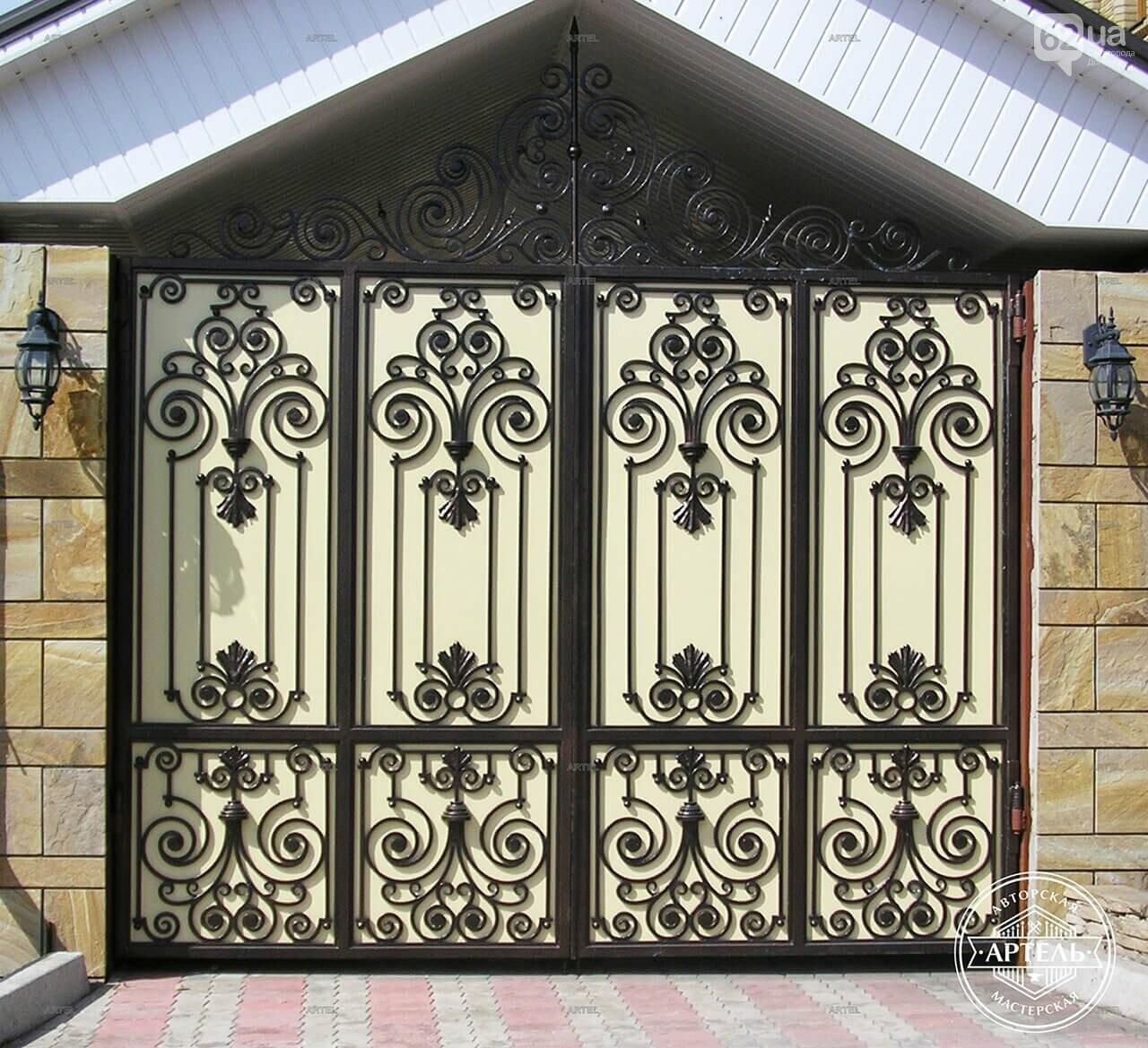 Кованые ворота в Киеве: как выбрать производителя?, фото-3