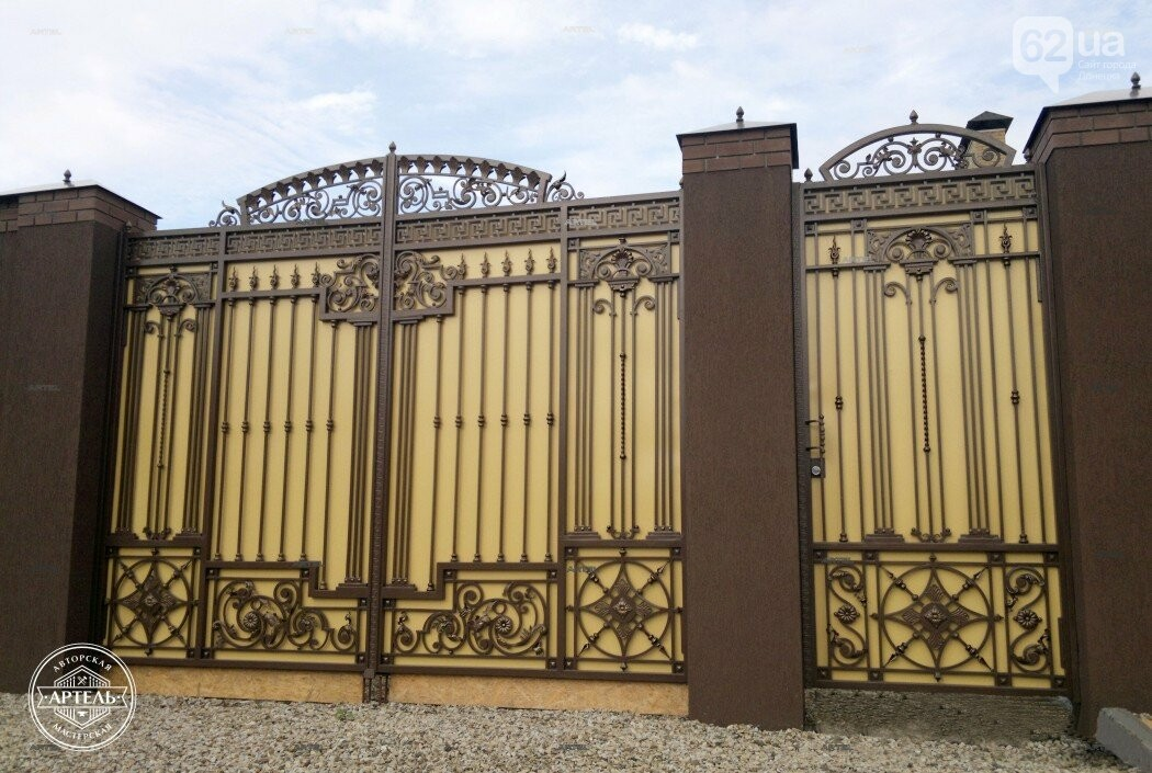 Кованые ворота в Киеве: как выбрать производителя?, фото-10