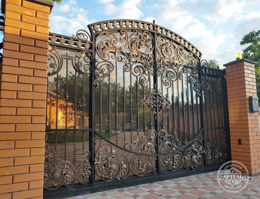 Кованые ворота в Киеве: как выбрать производителя?, фото-9