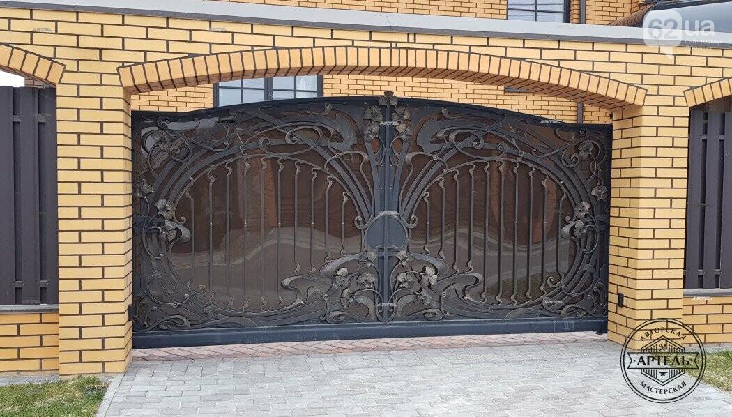 Кованые ворота в Киеве: как выбрать производителя?, фото-7