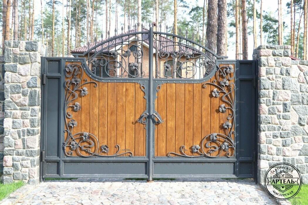 Кованые ворота в Киеве: как выбрать производителя?, фото-6