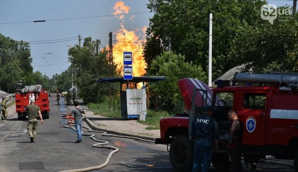 В Донецке прогремел взрыв и начался сильный пожар, - ФОТО, фото-3
