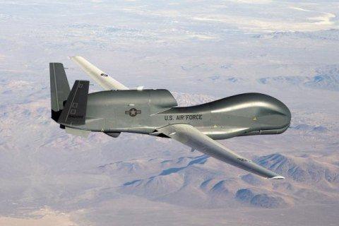 Американский стратегический беспилотник пролетел вдоль линии разгранич