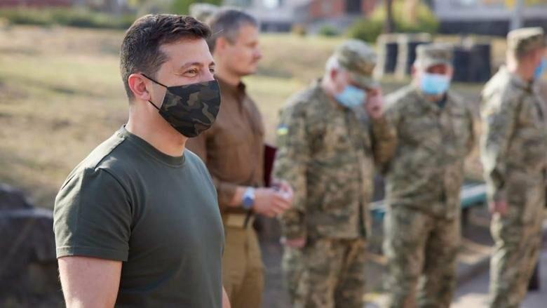 Зеленский прибыл в Донецкую область, посетит передовую