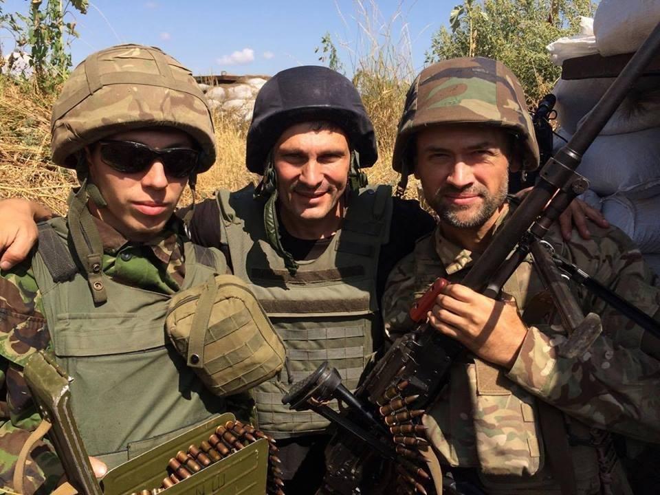 Известный российский актер воюет за Украину на Донбассе, фото-1