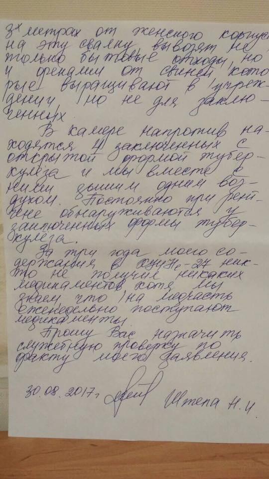 Нели Штепа заявила, что ее избили в Харьковском УИНе (Фото), фото-2