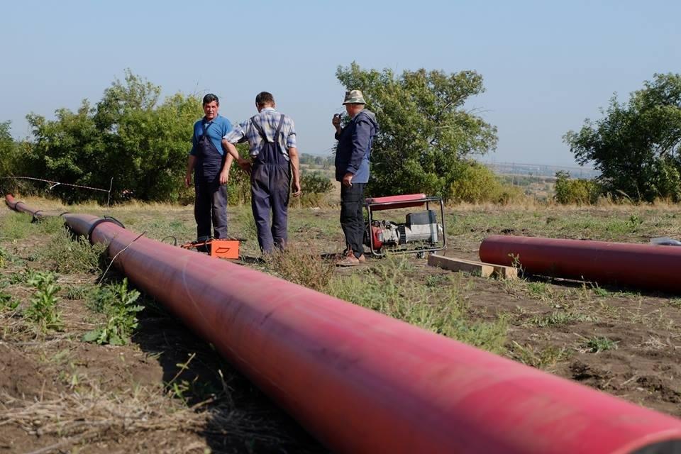 В Донецкой области начали строительство газопровода Очеретино-Авдеевка (ФОТО), фото-4