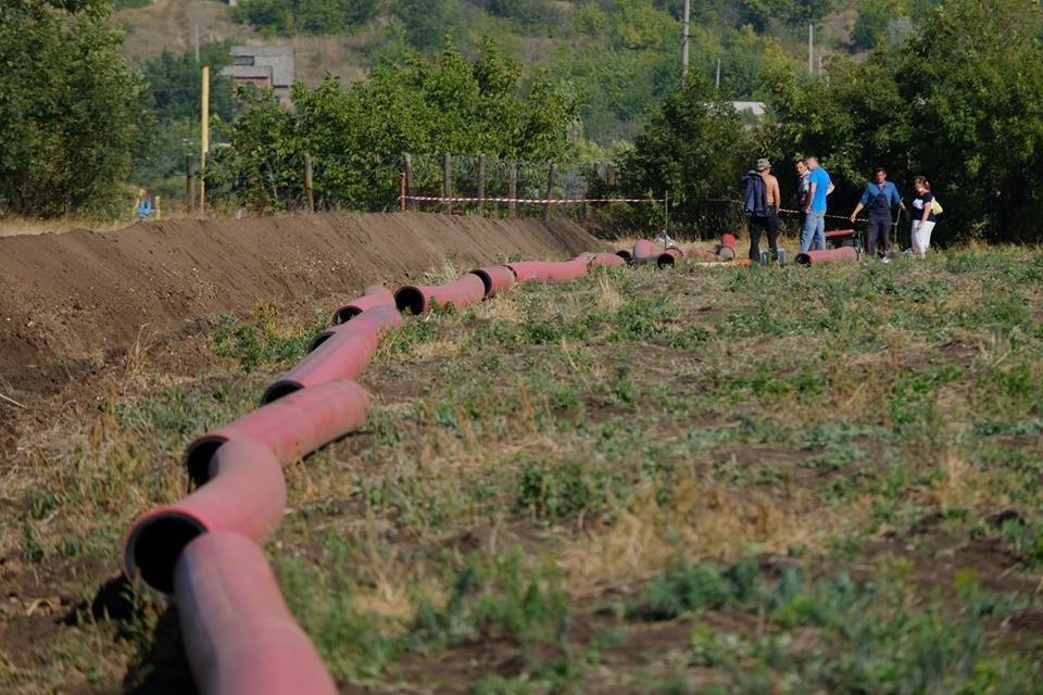 В Донецкой области начали строительство газопровода Очеретино-Авдеевка (ФОТО), фото-3