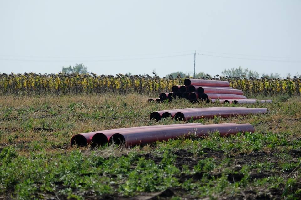 В Донецкой области начали строительство газопровода Очеретино-Авдеевка (ФОТО), фото-1