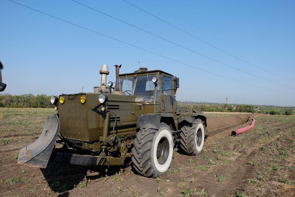 В Донецкой области начали строительство газопровода Очеретино-Авдеевка (ФОТО), фото-2