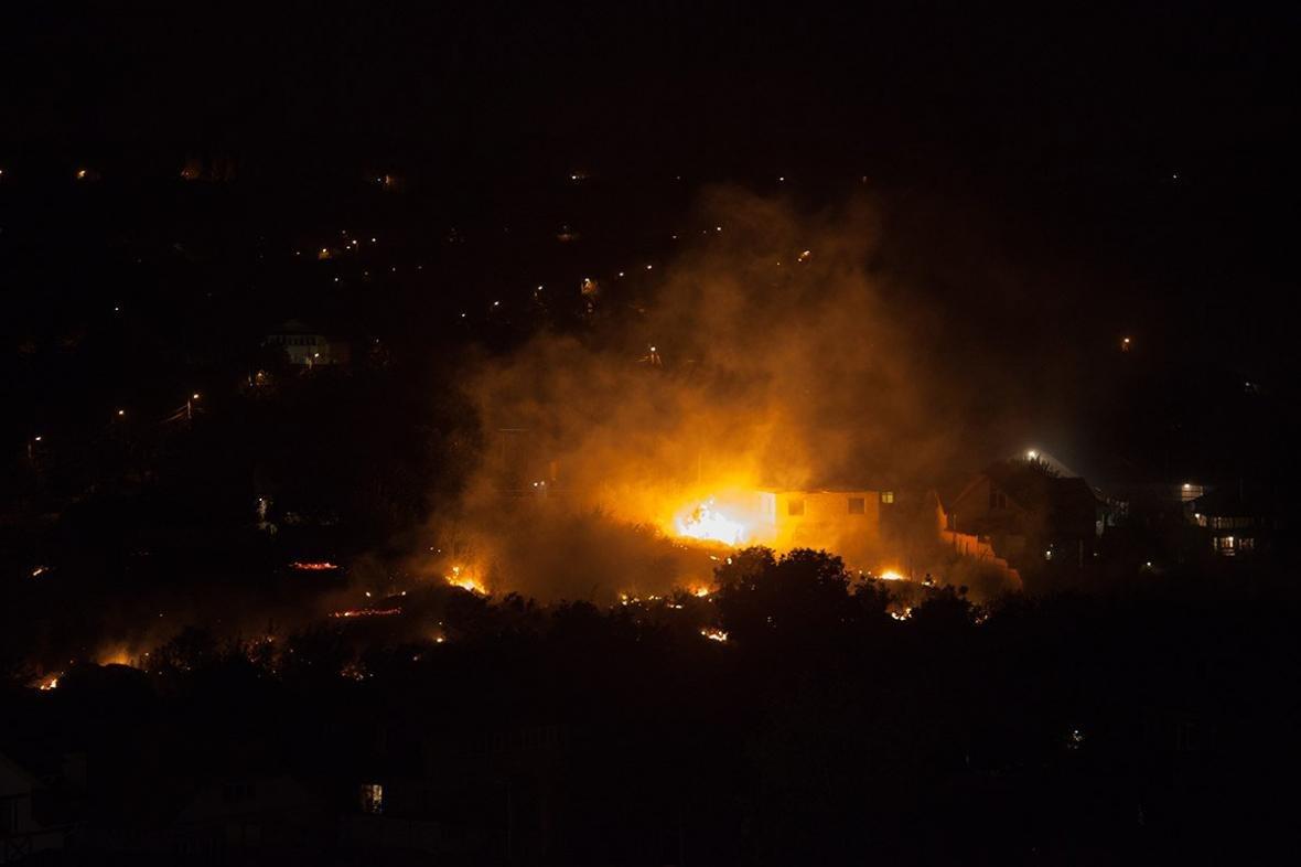 В  Макеевке страшный пожар (ФОТО), фото-1