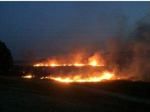 В Донецке горел поселок Кирша (ФОТО), фото-2