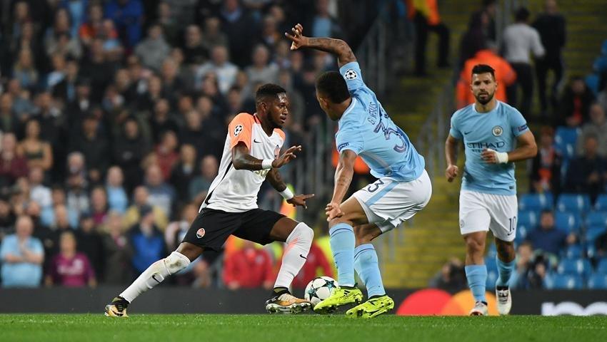 Пятов отбивает пенальти, но «Шахтер» проигрывает «Манчестер Сити» (ФОТО, ВИДЕО), фото-1