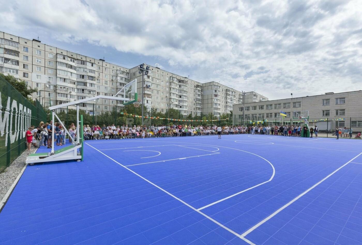 "Фонд ""Рух молоді"" установил 43 спортивные площадки по всей Украине, фото-7"