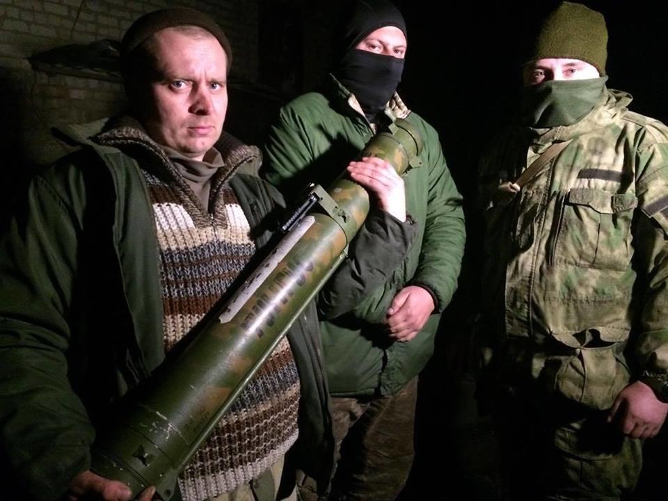 Силы АТО захватили в бою российский огнемет «Шмель», фото-1