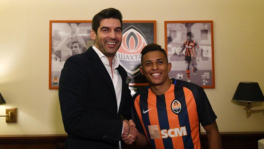 «Шахтер» подписал контракт с игроком молодежной сборной Бразилии (ФОТО), фото-1