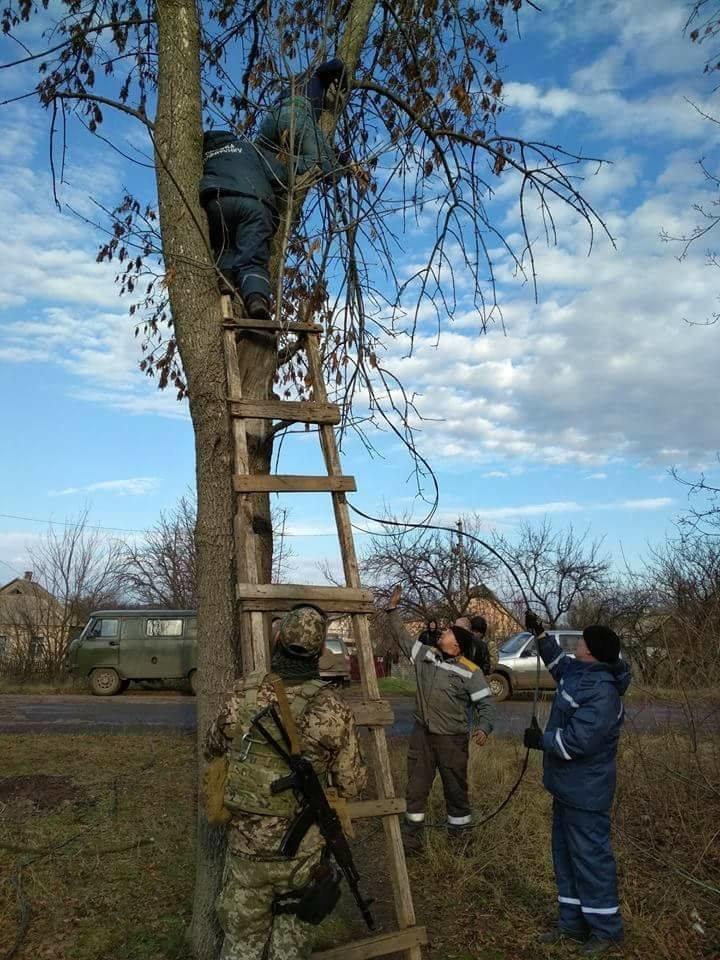В освобожденном ВСУ селе Травневое полностью восстановлено электроснабжение (ФОТО) , фото-5
