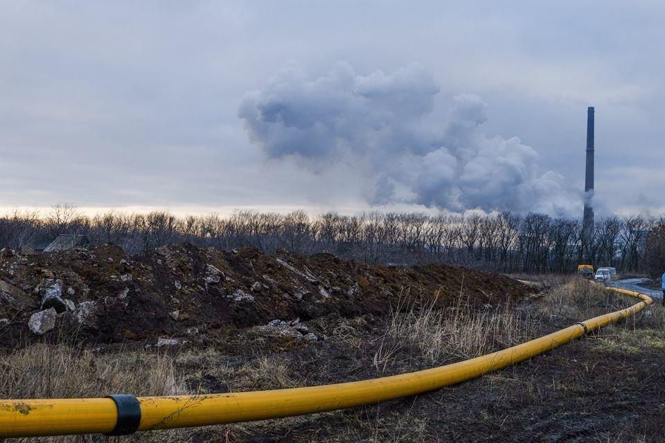 Строительство газопровода Очеретяное-Авдеевка вступило в завершающую стадию (ФОТО), фото-2