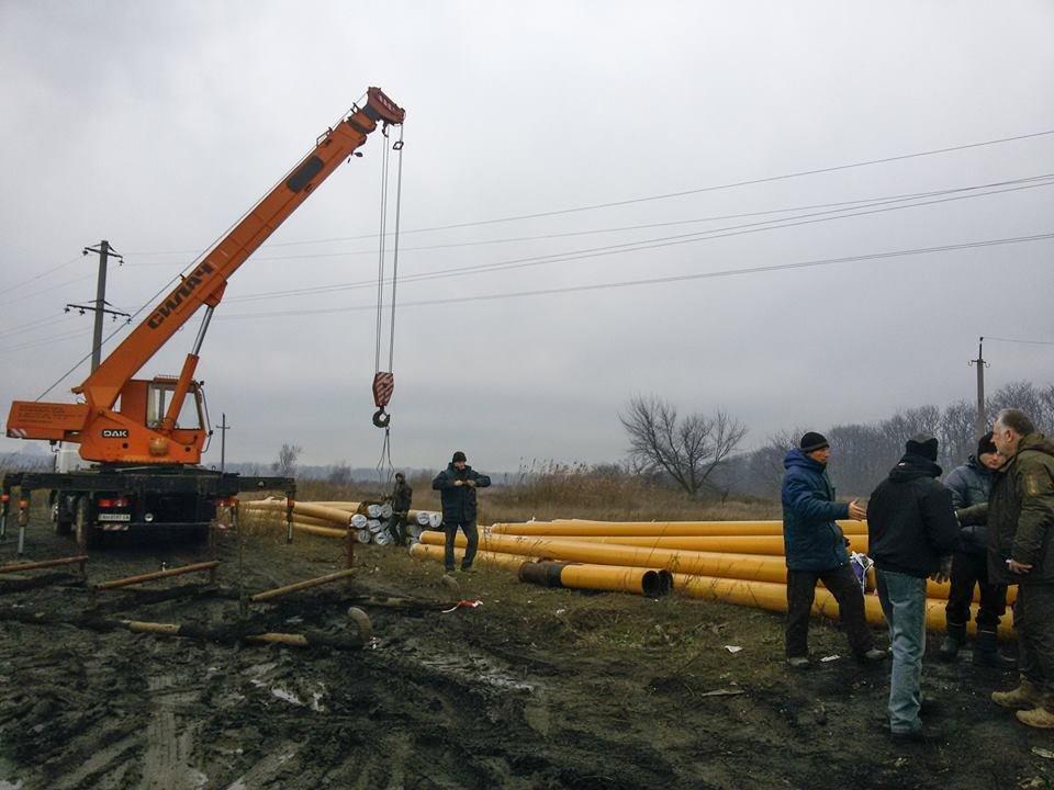 Строительство газопровода Очеретяное-Авдеевка вступило в завершающую стадию (ФОТО), фото-1