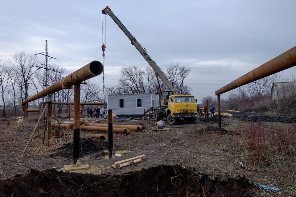 Строительство газопровода «Очеретино-Авдеевка» закончится до Нового года (ФОТО), фото-3
