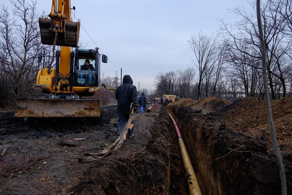 Строительство газопровода «Очеретино-Авдеевка» закончится до Нового года (ФОТО), фото-1