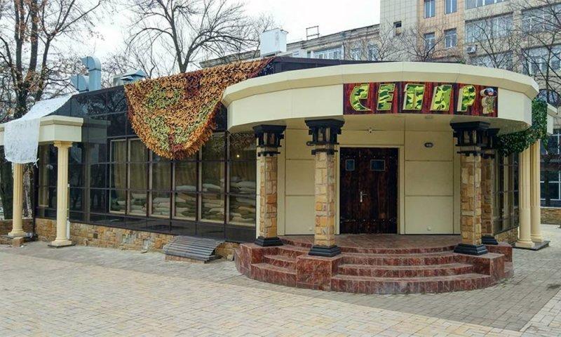 В центре Донецка открылось кафе «Сепар» с Чебурашкой (ФОТО), фото-1