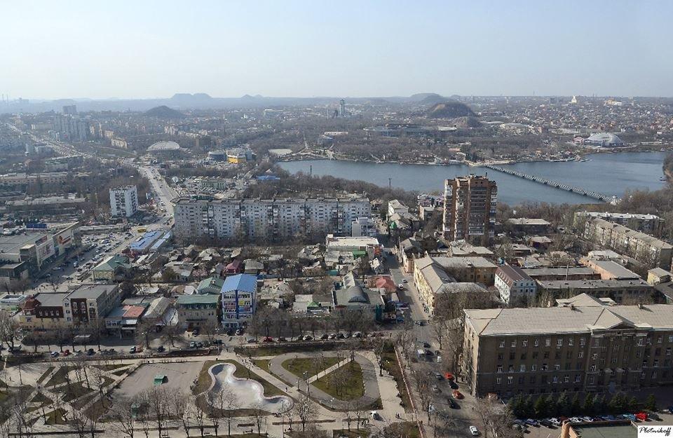 Как выглядит сегодня Донецк с высоты птичьего полета (ФОТО), фото-8