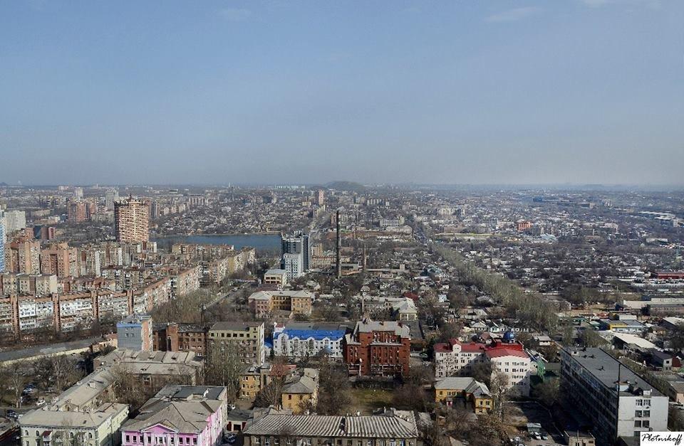 Как выглядит сегодня Донецк с высоты птичьего полета (ФОТО), фото-1