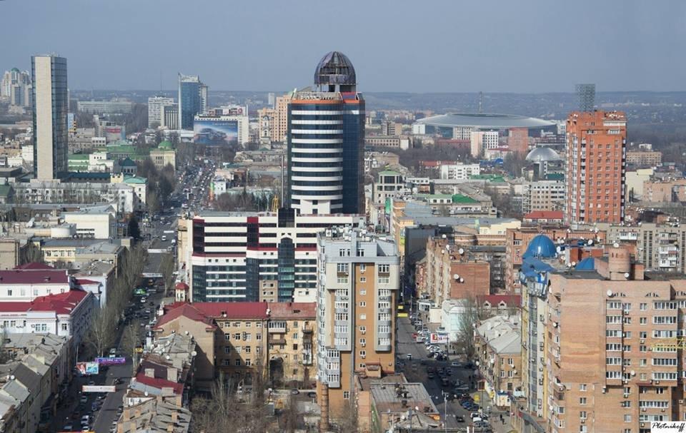 Как выглядит сегодня Донецк с высоты птичьего полета (ФОТО), фото-4