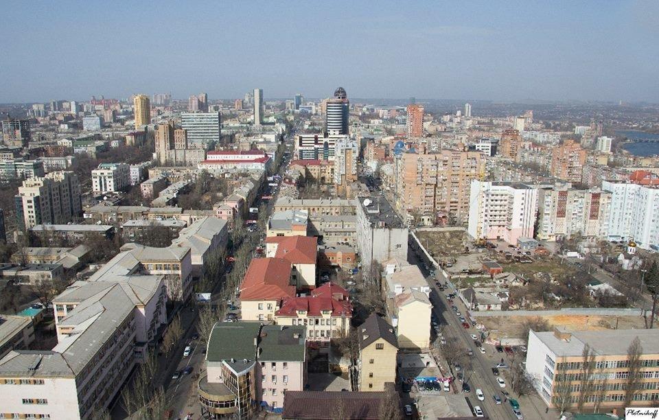 Как выглядит сегодня Донецк с высоты птичьего полета (ФОТО), фото-5