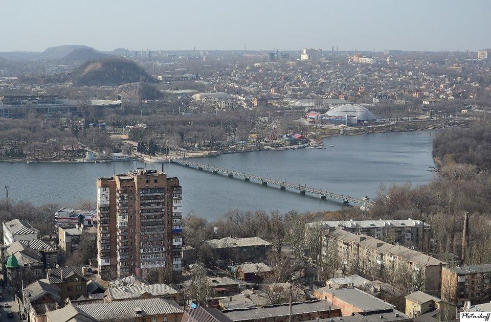 Как выглядит сегодня Донецк с высоты птичьего полета (ФОТО), фото-6