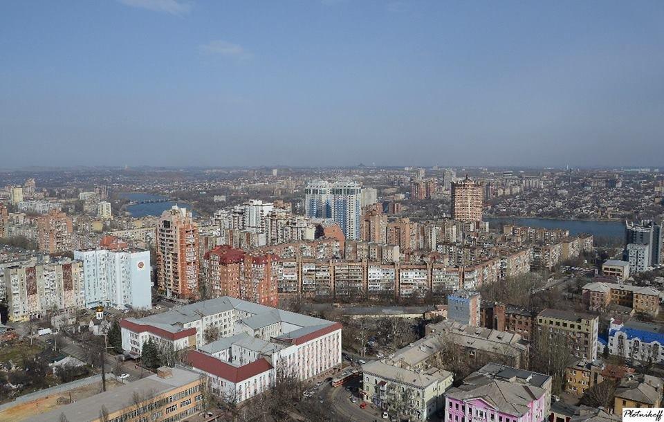 Как выглядит сегодня Донецк с высоты птичьего полета (ФОТО), фото-2