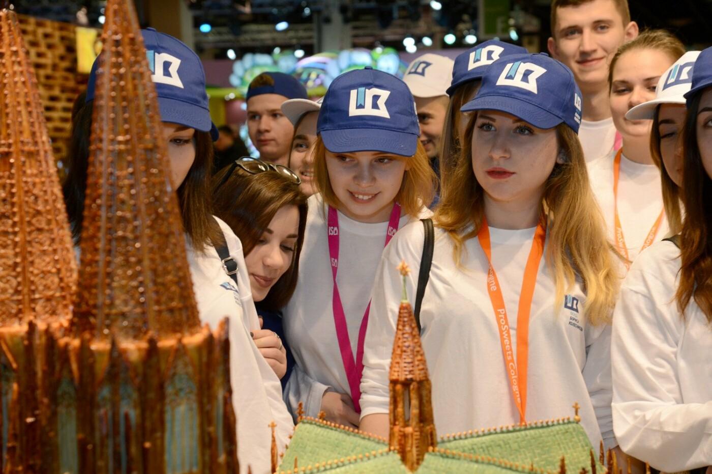Борис Колесников и украинские студенты оценили достижения кондитеров со всего мира в Кельне, фото-1